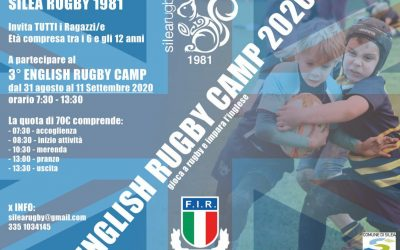 English Rugby Camp 2020